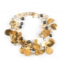 collier doré