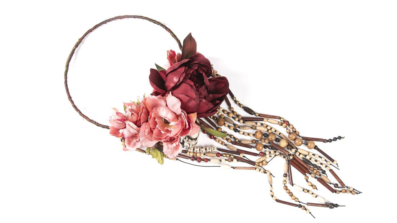 couronne fleurie