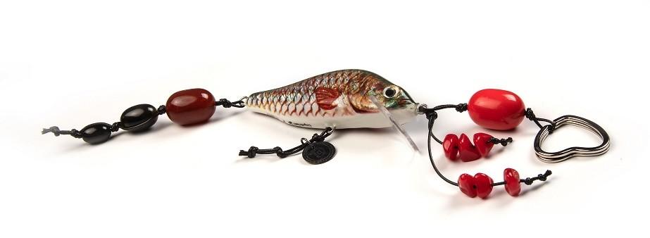 porte-clefs à la pêche
