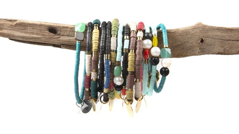 mes bracelets d'été
